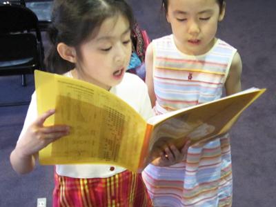 子供のためのコース 声楽